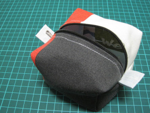 sewn sipper box pouch